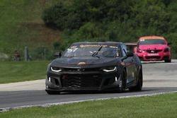 #57 Stevenson Motorsports Chrevrolet Camaro GT4.R: Matt Bell, Robin Liddell