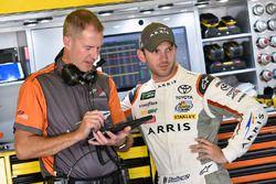 Daniel Suarez, Joe Gibbs Racing Toyota, Scott Graves