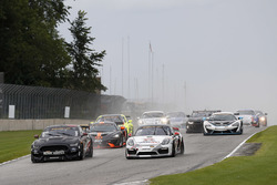 #59 KohR Motorsports Ford Mustang: Dean Martin, Jack Roush Jr., #28 RS1 Porsche Cayman GT4: Dillon M