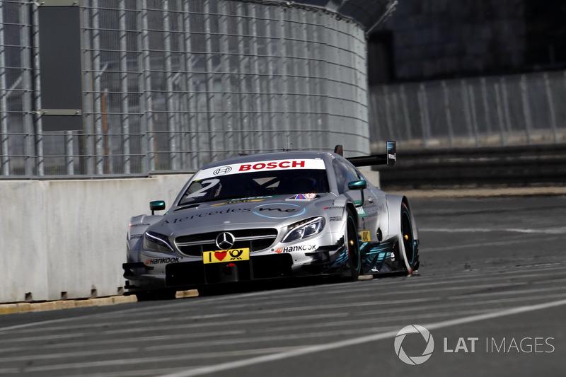 Ausfall: Gary Paffett, Mercedes-AMG Team HWA, Mercedes-AMG C63 DTM