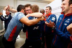 Hyundai Motorsport celebra la victoria