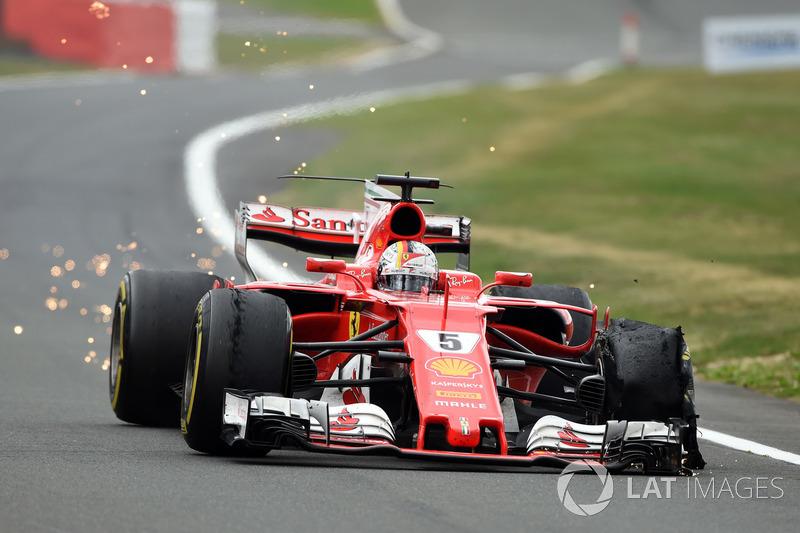 7. Себастьян Феттель, Ferrari SF70H