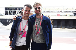 Cyclist Mark Cavendish, Kaiser Chiefs Ricky Wilson