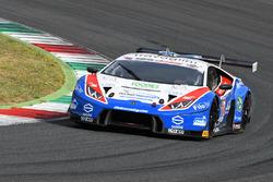 Lamborghini Huracan-S.GT3 #12 Ombra Racing: Frassineti-Beretta