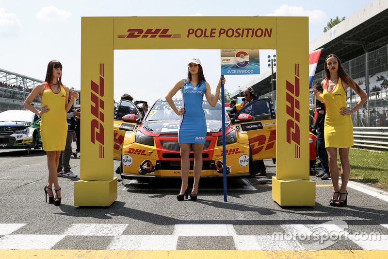 DHL Grid girls
