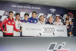 Jorge Lorenzo, Ducati Team, Cal Crutchlow, Team LCR Honda, Maverick Viñales, Yamaha Factory Racing, Valentino Rossi, Yamaha Factory Racing, Agostini, Nieto, Marc Marquez, Repsol Honda Team, Dani Pedrosa, Repsol Honda Team