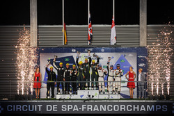 Podium LMGTE Am: first place Paul Dalla Lana, Pedro Lamy, Mathias Lauda, Aston Martin Racing, second