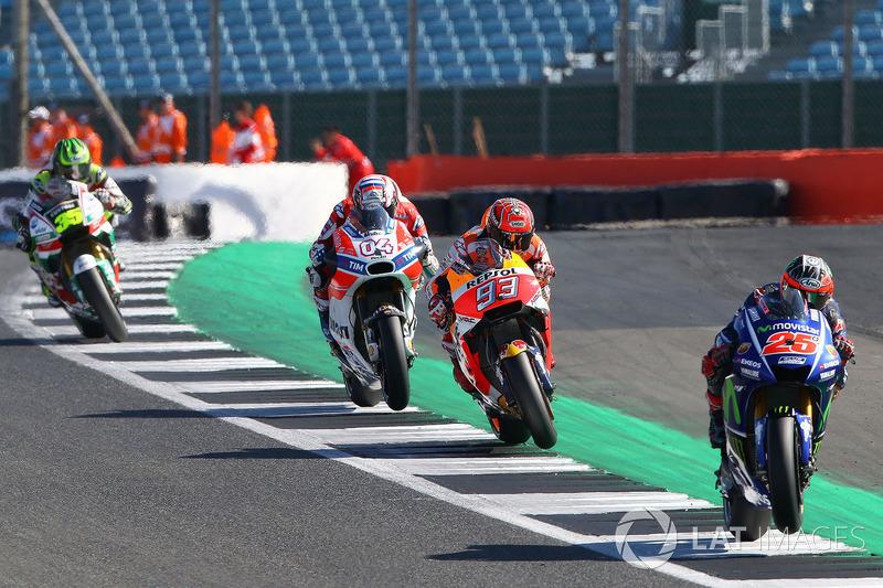 Maverick Viñales, Yamaha Factory Racing, Marquez