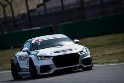 Keszthelyi Vivien - Audi TT Cup- teszt
