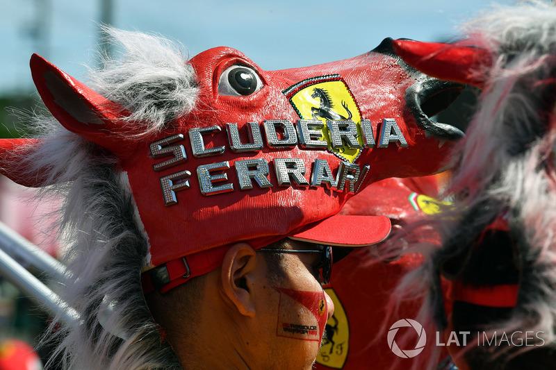 Ferrari and hat