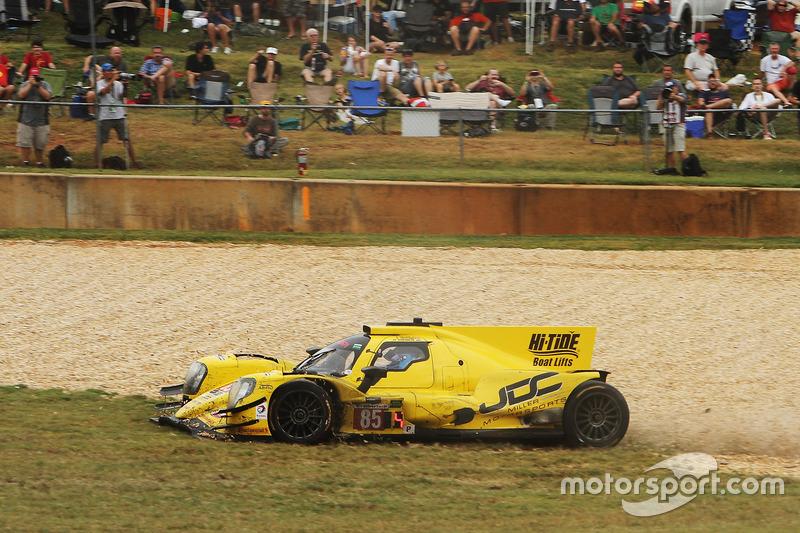 Trouble for the #85 JDC/Miller Motorsports ORECA 07: Stephen Simpson, Mikhail Goikhberg, Chris Mille