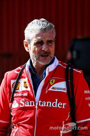 Maurizio Arrivabene, Director del equipo Ferrari Team