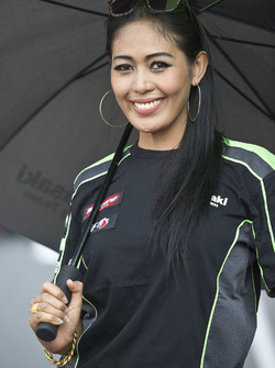 Девушка Kawasaki