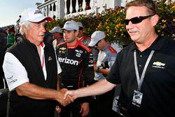 Will Power, Team Penske Chevrolet, Roger Penske, Mark Kent