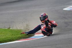 Stefan Bradl, Honda World Superbike Team crash