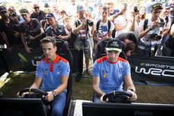 Пилоты Hyundai Motorsport Дани Сордо и Хейден Пэддон
