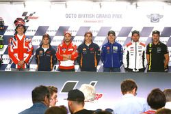 Press conference rider line-up