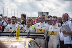 Les vainqueurs du BMW Team RMG, BMW M4 DTM