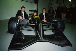 Gary Anderson, John Watson, Eddie Jordan, Jordan 191 Team Launch