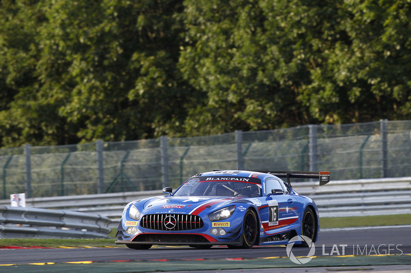 #16 Black Falcon Mercedes-AMG GT3: Oliver Morley, Miguel Toril, Maximilian G?tz, Marvin Kirchhöfer