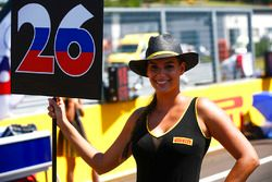 Chica de la parrilla para Daniil Kvyat, Scuderia Toro Rosso