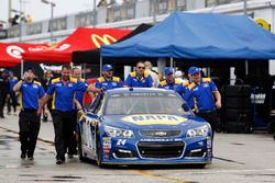 The car of Chase Elliott, Hendrick Motorsports Chevrolet