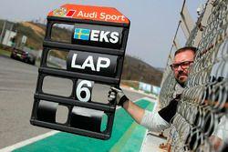 Panneautage pour Mattias Ekström, Audi RS 5 DTM