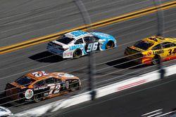 Cole Whitt, TriStar Motorsports Ford, D.J. Kennington, Gaunt Brothers Racing Toyota