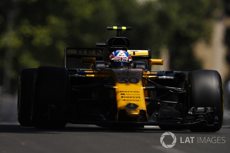 20: Jolyon Palmer, Renault Sport F1 Team RS17 (did not run in qualifying)