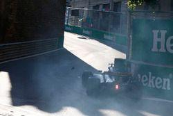 Le crash de Jolyon Palmer, Renault Sport F1 Team RS17