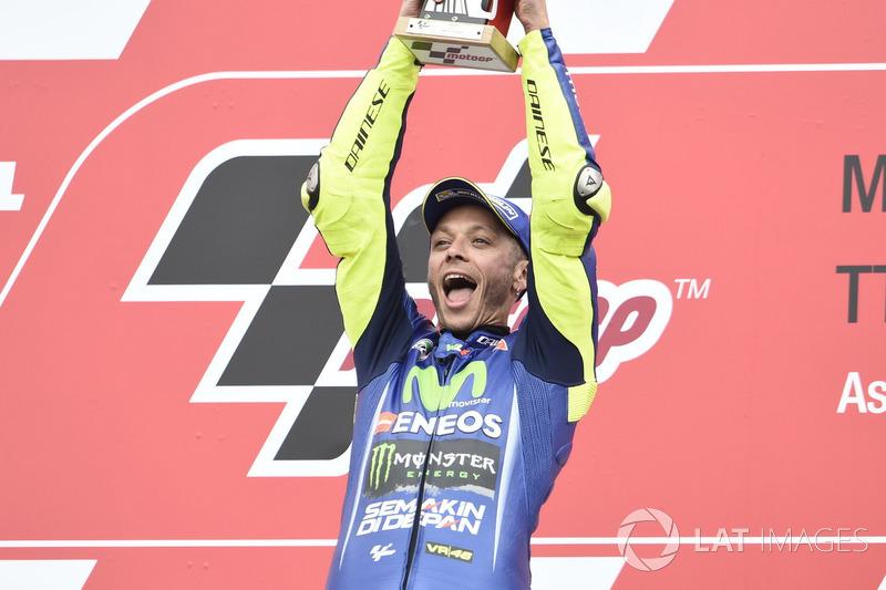 4. Rossi gana en Assen y se mete de lleno en la lucha por el título