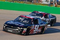 Jeremy Clements, Jeremy Clements Racing Chevrolet and Tyler Reddick, Chip Ganassi Racing Chevrolet