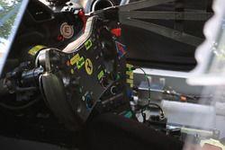 #60 Clearwater Racing Ferrari 488 GTE steering wheel