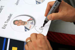 Signature of Eric Trouillet, Graff Racing
