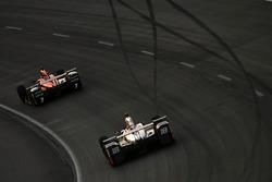 Tristan Vautier, Dale Coyne Racing Honda, Mikhail Aleshin, Schmidt Peterson Motorsports Honda
