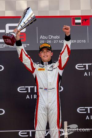 Race winner Nyck De Vries, ART Grand Prix