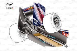 Red Bull RB5 2009 diffuser underside view