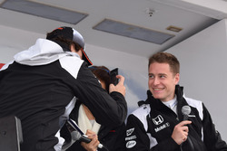 Stoffel Vandoorne et Fernando Alonso
