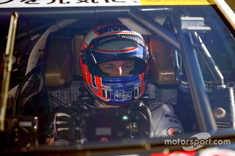 ジェンソン・バトン, #15 ドラゴ モデューロ NSX CONCEPT-GT