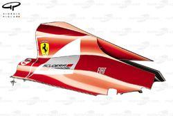 Ferrari F150 engine cover