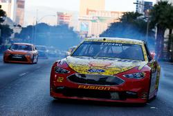 Joey Logano, Team Penske Ford in the streets of Las Vegas