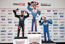Podium: winner James Deane, second place Chris Forsberg, third place Aurimas Bakchis