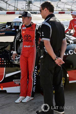 Christopher Bell, Joe Gibbs Racing Toyota and Chris Gabehart