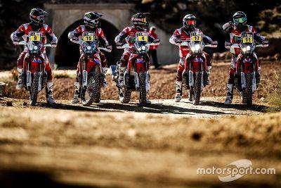 Honda Team presentatie motor