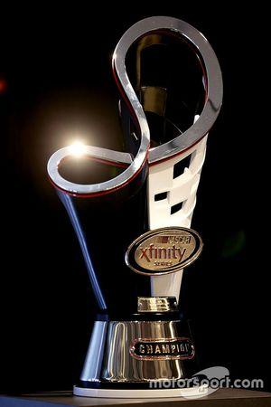 The NASCAR Xfinity trophy