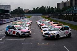 All cars for Super Geely driver training