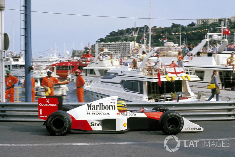 1989 Ayrton Senna, McLaren
