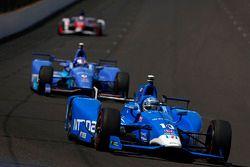 Tony Kanaan, Chip Ganassi Racing Honda, Scott Dixon, Chip Ganassi Racing Honda