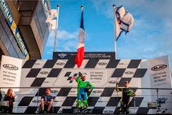 Le podium 600cc de l'International Bridgestone Handy Race