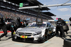 Pit stop, Gary Paffett, Mercedes-AMG Team HWA, Mercedes-AMG C63 DTM